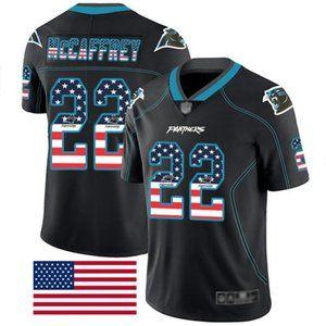 Carolina Panthers #22 Christian McCaffrey Jerse
